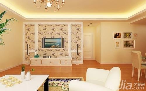 室内装修彩色石膏室内装修图片1