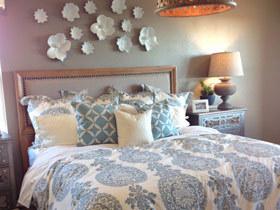素雅灰色空间 13款灰色床头软包效果图