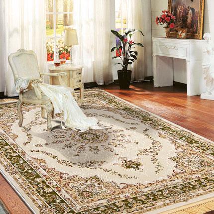 欧式客厅地毯效果图