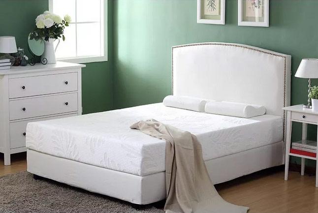 田园风格床头软包效果图