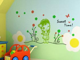 活泼卡通墙 14款卡通手绘墙设计