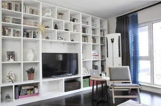 收纳型电视柜设计效果图