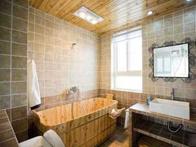 彰顯簡約之美 13款現代清新浴缸效果圖