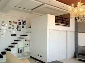 宜家混搭风LOFT公寓装修 错层设计让家有更多可能