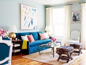 客厅的焦点 16款沙发背景墙设计