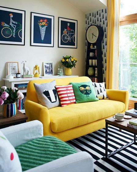 沙发背景墙效果图大全
