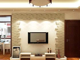 家居中的风景线 14张瓷砖背景墙效果图