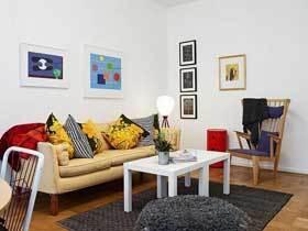 10万装60平北欧原木清新公寓设计案例