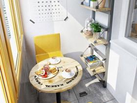 小空间大利用 15款阳台收纳设计