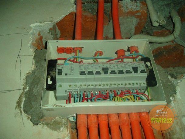 家装强弱电箱接线盒图片