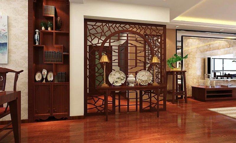 居雅悠阁抒写新中式装修效果图,室内设计效果图 齐家装修网 -居雅悠高清图片
