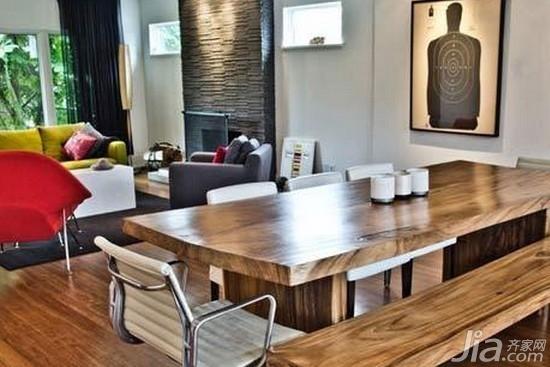 小户型客厅餐厅一体装修效果图高清图片