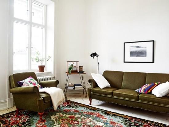 复古欧式客厅设计效果图图片