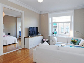 舒适宜家混搭风 这是单身公寓最好的设计