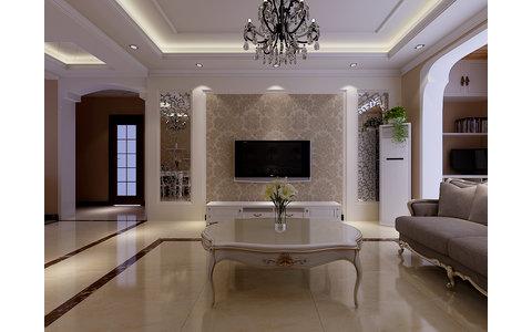 简欧装修效果图,室内设计效果图-齐家装修网