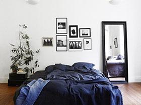 温馨素雅北欧风卧室装饰画欣赏