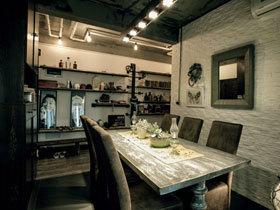 现代酷炫黑白三居设计案例