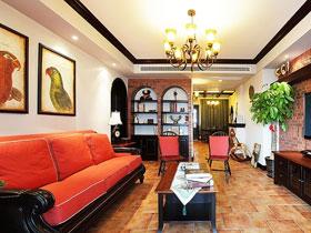 復古雅居 104平中式大宅設計