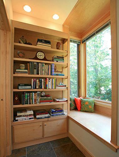 实木飘窗台面效果图