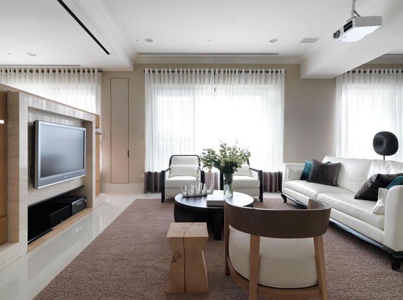 现代简约风格三居室奢华140平米以上设计图纸