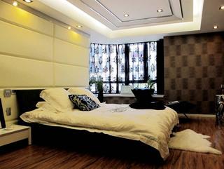 现代奢华卧室设计效果图