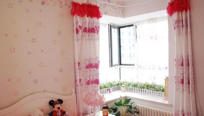 卧室转角飘窗效果图