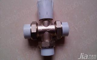 暖气片温控阀原理图片