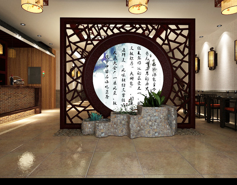 20万以上140平米以上大户型装修效果图,江南酒店装修案例效果图 高清图片