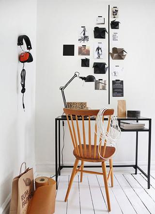 现代简约小书房设计