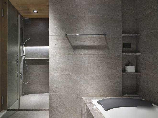 现代简约风格三居室简洁效果图