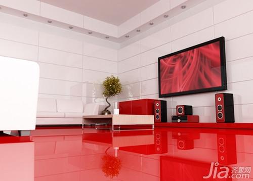 红色欧式豪华装修
