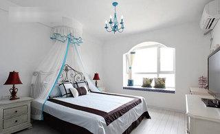 地中海卧室设计效果图