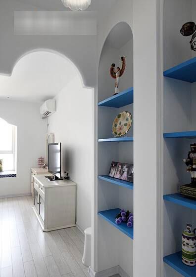 地中海风格三居室120平米装修效果图
