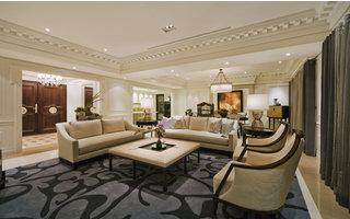 125平三房新古典风格锦绣华都9.6万自