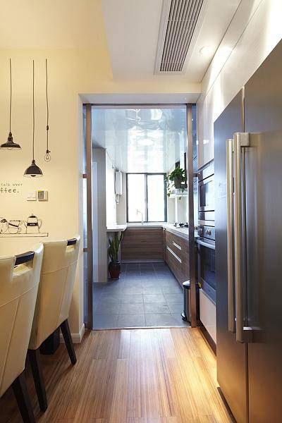 现代简约风格三居室温馨120平米装修图片