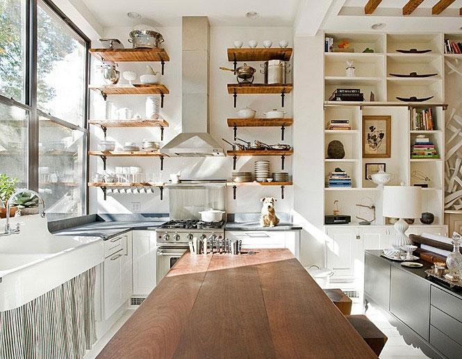 北欧阳台厨房