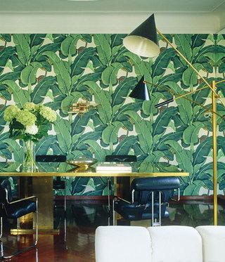 壁画式客厅背景墙