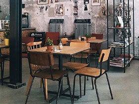 享受魔力盛宴 12款工业风格餐厅
