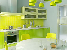 你的厨房够绿吗? 13款绿色厨房远离油腻