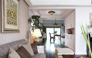 欧式风格三居室温馨140平米以上设计图纸