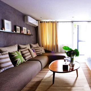 loft风格简洁40平米装修图片