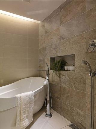 北欧清新浴缸设计图片