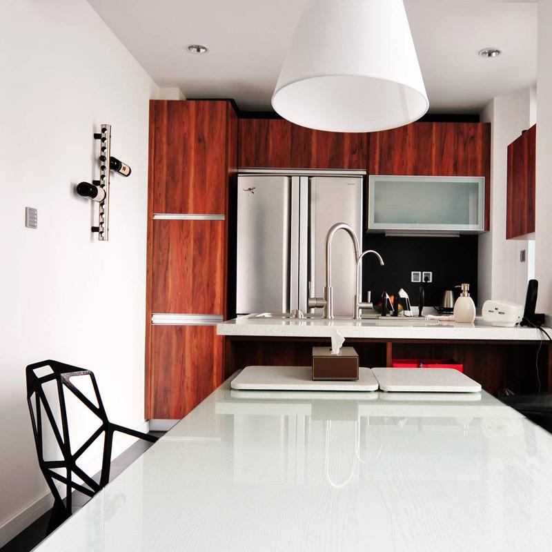 混搭风格三居室120平米装修效果图
