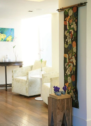 布艺挂毯装饰玄关