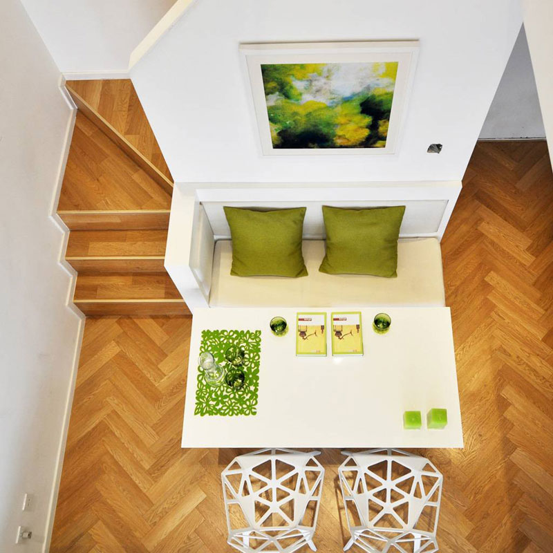 loft风格一居室60平米装修效果图