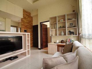 宜家风格二居室简洁80平米装修效果图