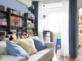 小清新设计 40平地中海二居室