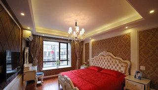 欧式风格三居室100平米效果图