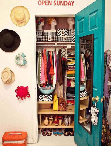 女生最爱小户型壁橱衣帽间