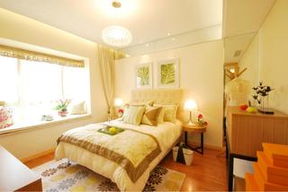 简约温馨卧室设计效果图